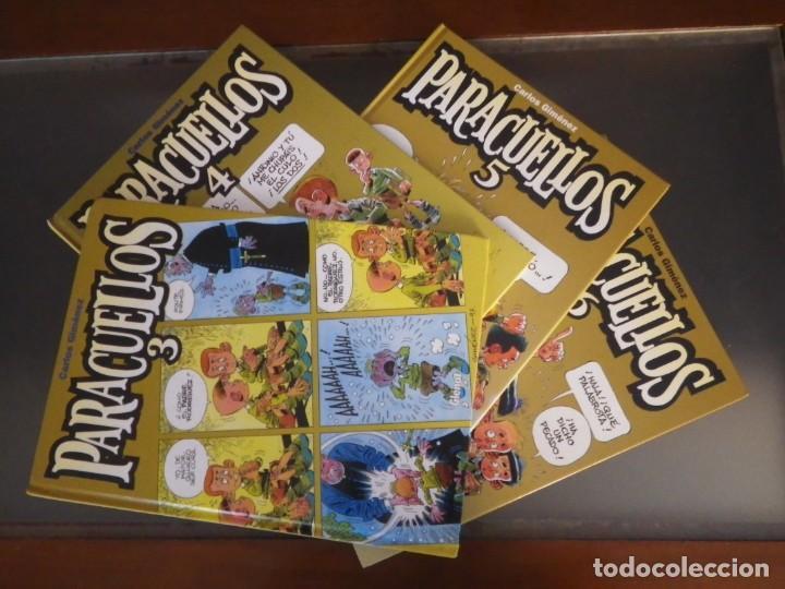COMICS. LOTE DE 4 TOMOS DE PARACUELLOS. Nº 3, 4, 5 Y 6. EDIT. GLENAT (Tebeos y Comics - Glénat - Autores Españoles)