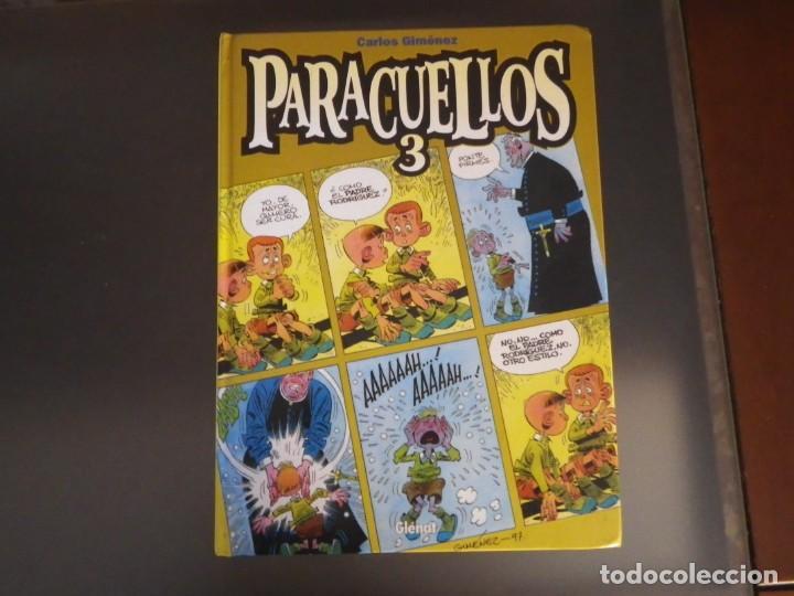 Cómics: Comics. Lote de 4 tomos de Paracuellos. Nº 3, 4, 5 y 6. Edit. Glenat - Foto 2 - 278269038