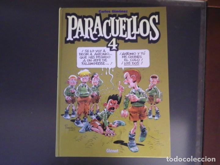 Cómics: Comics. Lote de 4 tomos de Paracuellos. Nº 3, 4, 5 y 6. Edit. Glenat - Foto 7 - 278269038