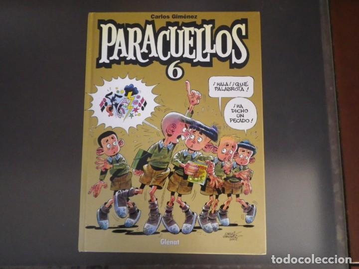 Cómics: Comics. Lote de 4 tomos de Paracuellos. Nº 3, 4, 5 y 6. Edit. Glenat - Foto 18 - 278269038