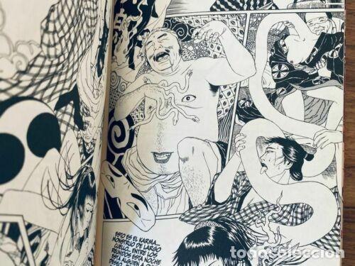 Cómics: Suehiro Maruo- LUNATIC LOVERS - 1ª Ed. GLÉNAT 2003 - Foto 5 - 278839823