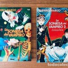 Cómics: SUEHIRO MARUO- LA SONRISA DEL VAMPIRO VOLS.1 Y 2 - GLÉNAT 2002/04. Lote 278840143