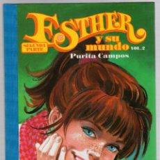 Cómics: ESTHER Y SU MUNDO. PURITA CAMPOS. SEGUNDA PARTE. VOL. 2. GLENAT, 2012. Lote 279412108