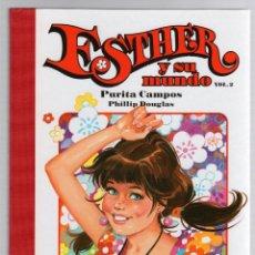 Cómics: ESTHER Y SU MUNDO. PURITA CAMPOS - PHILLIP DOUGLAS. VOL. 2. GLENAT, 2010. Lote 279412298