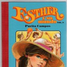 Cómics: ESTHER Y SU MUNDO. PURITA CAMPOS. VOL. 8. GLENAT, 2010. Lote 279412593