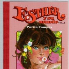 Cómics: ESTHER Y SU MUNDO. PURITA CAMPOS. VOL. 7. GLENAT, 2010. Lote 279412798