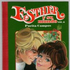 Cómics: ESTHER Y SU MUNDO. PURITA CAMPOS. VOL. 6. GLENAT, 2010. Lote 279412888