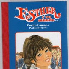 Cómics: ESTHER Y SU MUNDO. PURITA CAMPOS - PHILLIP DOUGLAS. VOL. 1. GLENAT, 2010. Lote 279413518
