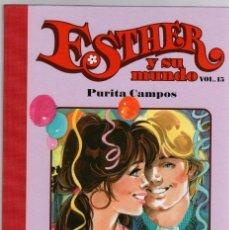 Cómics: ESTHER Y SU MUNDO. PURITA CAMPOS. VOL. 15. GLENAT, 2010. Lote 279413778