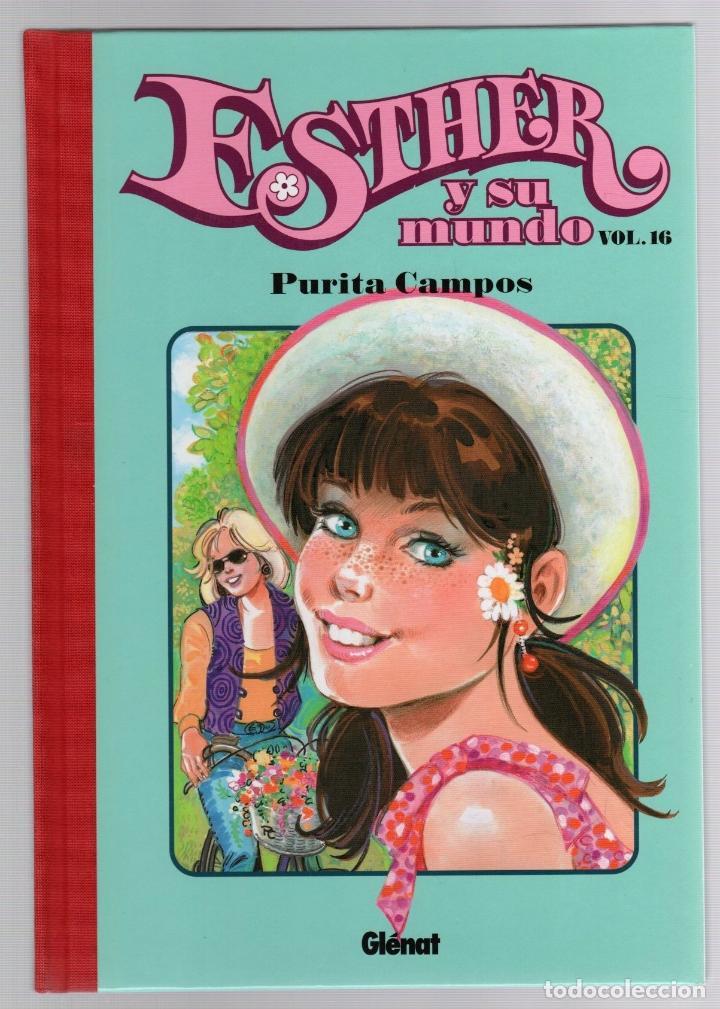 ESTHER Y SU MUNDO. PURITA CAMPOS. VOL. 16. GLENAT, 2010 (Tebeos y Comics - Glénat - Autores Españoles)