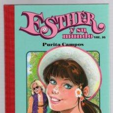 Cómics: ESTHER Y SU MUNDO. PURITA CAMPOS. VOL. 16. GLENAT, 2010. Lote 279414133