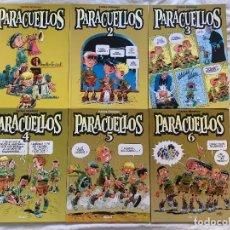 Cómics: PARACUELLOS COMPLETA - 6 TOMOS CARTONÉ - CARLOS GIMÉNEZ - D1 - TOTALMENTE NUEVOS. Lote 280151568