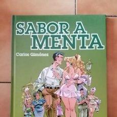 Comics : SABOR A MENTA DE CARLOS GIMÉNEZ - GLENAT TAPA DURA. Lote 280276133