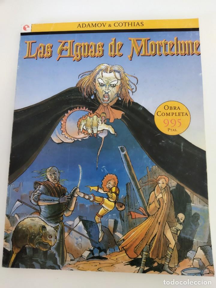 LAS AGUAS DE MORTELUNE. ADAMOV, COTHIAS (Tebeos y Comics - Glénat - Serie Erótica)