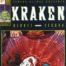 Cómics: KRAKEN Nº 2 - GLENAT - MUY BUEN ESTADO - SUB03M. Lote 286234358
