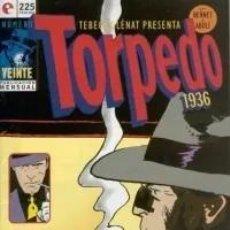 Cómics: TORPEDO 1936 Nº 20 - GLENAT - MUY BUEN ESTADO - SUB03M. Lote 286254773