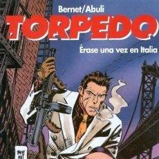 Cómics: TORPEDO Nº 7 ERASE UNA VEZ EN ITALIA - GLENAT - MUY BUEN ESTADO - SUB03M. Lote 286689498
