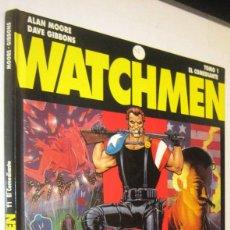 Cómics: WATCHMEN - TOMO 1 - EL COMEDIANTE - ALAN MOORE Y DAVE GIBBONS - ILUSTRADO. Lote 287232548