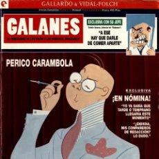 Cómics: GALANES. PERICO CARAMBOLA (GLÉNAT, 1995) DE GALLARDO Y VIDAL-FOLCH. VIÑETAS COMPLETAS-10. Lote 288163578