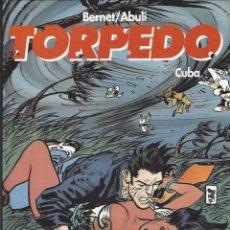 Cómics: TORPEDO - CUBA - TOMO HISTORIA COMPLETA - BERNET / ABULI - NUEVO A ESTRENAR !!. Lote 288597778