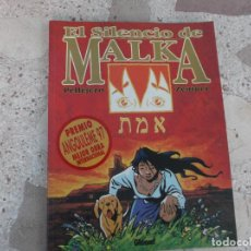 Cómics: EL SILENCIO DE MALKA, PELLEJERO / ZENTNER, GLENAT, , COLOR, 1995, 84 PAGINAS, 23 X 30. Lote 288645023