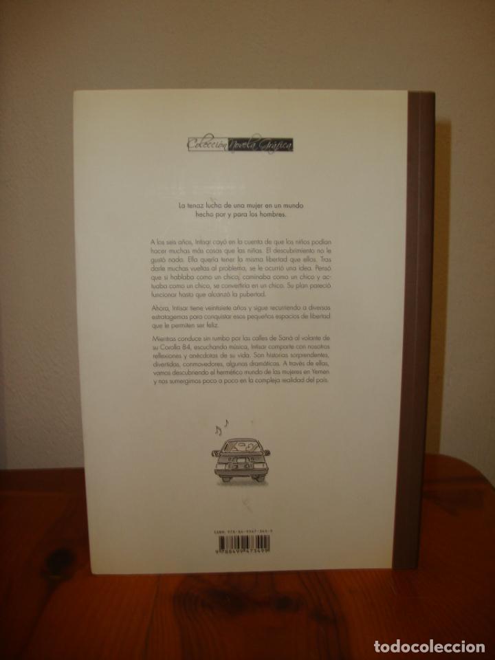 Cómics: EL COCHE DE INTISAR - PEDRO RIERA & NACHO CASANOVA - GLENAT, MUY BUEN ESTADO - Foto 3 - 289000548