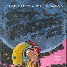 Cómics: SKY MASTERS OF THE SPACE FORCE TOMO 1 JACK KIRBY WALLY WOOD GLENAT. Lote 289204483