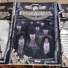 Cómics: FREAK ANGELS (3 TOMOS) - VOLUMEN 1 A 3 (DE 6) - WARREN ELLIS, PAUL DUFFIELD - GLENAT (2011). Lote 289483223