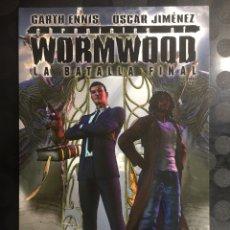 Cómics: CHRONICLES OF WORMWOOD N.2 LA BATALLA FINAL DE GARTH ENNIS Y ÓSCAR JIMÉNEZ AVATAR ( 2008/2012 ). Lote 289727623