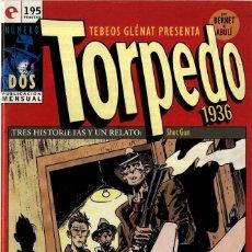 Cómics: TORPEDO-2 (GLÉNAT, 1994) DE BERNET Y ABULÍ. Lote 289915328
