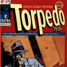 Cómics: TORPEDO-4 (GLÉNAT, 1994) DE BERNET Y ABULÍ. Lote 289915573