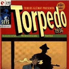 Cómics: TORPEDO-6 (GLÉNAT, 1994) DE BERNET Y ABULÍ. Lote 289916068