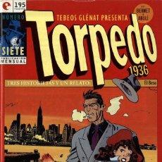 Cómics: TORPEDO-7 (GLÉNAT, 1994) DE BERNET Y ABULÍ. Lote 289916298