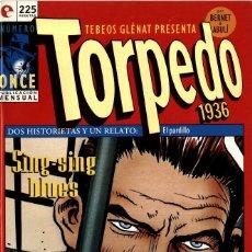 Cómics: TORPEDO-11 (GLÉNAT, 1994) DE BERNET Y ABULÍ. Lote 289916473
