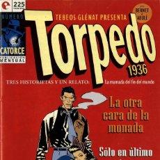 Cómics: TORPEDO-14 (GLÉNAT, 1994) DE BERNET Y ABULÍ. Lote 289916598