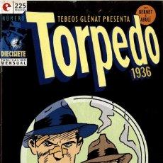 Cómics: TORPEDO-17 (GLÉNAT, 1994) DE BERNET Y ABULÍ. Lote 289916733