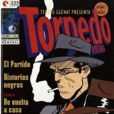 Cómics: TORPEDO-19 (GLÉNAT, 1994) DE BERNET Y ABULÍ. Lote 289917103