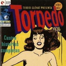Cómics: TORPEDO-21 (GLÉNAT, 1994) DE BERNET Y ABULÍ. Lote 289917298