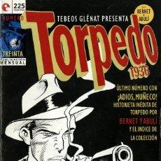 Cómics: TORPEDO-30 (GLÉNAT, 1994) DE BERNET Y ABULÍ. Lote 289917798