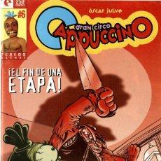 Cómics: GRAN CIRCO CAPUCCINO-6 (GLÉNAT, 1997) DE ÓSCAR JULVE. Lote 290051038