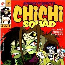 Cómics: CHICHI SQUAD-4 (GLÉNAT, 1996) DE JOSÉ MIGUEL ÁLVAREZ. Lote 290053018