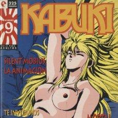 Cómics: KABUKI-9 (GLÉNAT, 1995) REVISTA SOBRE MANGA DIRIGIDA POR JORGE RIERA. Lote 290075373