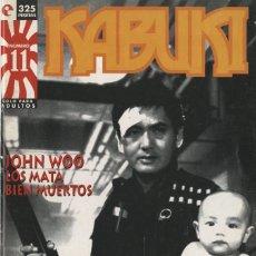 Cómics: KABUKI-11 (GLÉNAT, 1995) REVISTA SOBRE MANGA DIRIGIDA POR JORGE RIERA. Lote 290075568