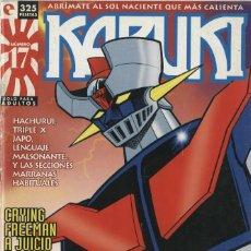 Cómics: KABUKI-17 (GLÉNAT, 1995) REVISTA SOBRE MANGA DIRIGIDA POR JORGE RIERA. Lote 290076298