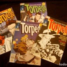Cómics: LOTE DE 4 COMICS TORPEDO 1936. Lote 291255568