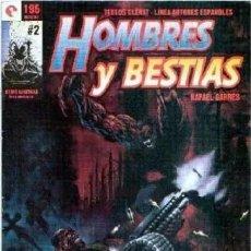 Cómics: HOMBRES Y BESTIAS Nº 2 - GLENAT - MUY BUEN ESTADO - SUB01M. Lote 292368383