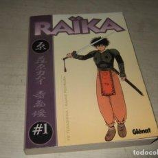 Cómics: COMIC RAIKA - NUM 1 - DIBUJO MANGA - GLENAT. Lote 292940853