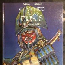 Cómics: EL VIENTO DE LOS DIOSES DE COTHIAS Y ADAMOV N.5 LA BALADA DE MIZU ( 1993/1998 ). Lote 295008963