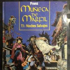 Cómics: MUÑECA DE MARFIL DE FRANZ DRAPPIER N.1 NOCHES SALVAJES ( 1993/2001 ). Lote 295009708