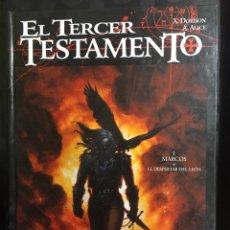 Cómics: EL TERCER TESTAMENTO N.1 MARCOS O EL DESPERTAR DEL LEÓN ( 1998/2001 ). Lote 295295798